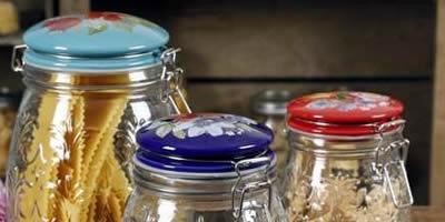 Ємності та посуд для зберігання продуктів