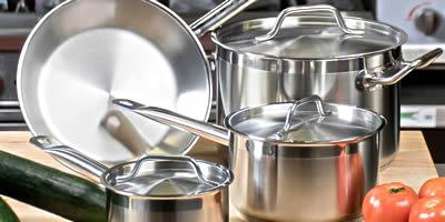 Наплитная посуда для общепита