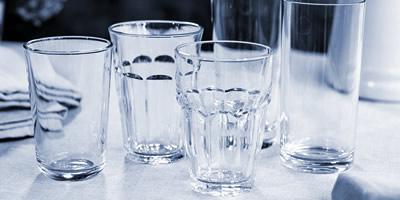 Питне скло для ресторанів, барів та кафе