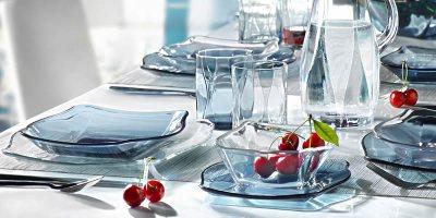 Посуд зі скла і склокераміки