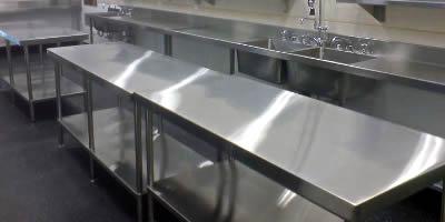 Столи виробничі для громадського харчування