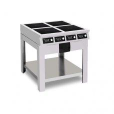 Плита індукційна 10 кВт 4-х конфорочна