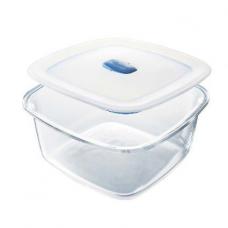 Frigoverre: контейнер прямоугольный с вакуумной кнопкой 19*19