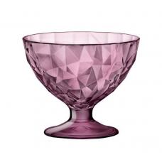 Креманка для мороженого diamond вишневая