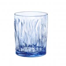 Стакан для воды голубой диамант wind 300 мл.