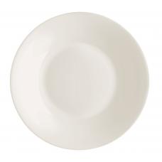 Тарелка для первого white moon 23 см