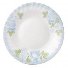 """Набір 18 предметів тарілок """"блакитні троянди"""" prima"""