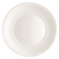 Тарелка обеденная white moon 27 см