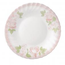 Набір 18 предметів тарілок «рожеві троянди» prima