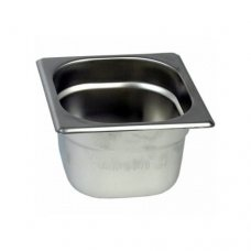 Нержавіюча сталь GN 1/6 200 мм STANDARD