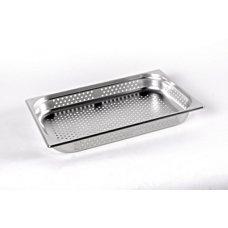 Гастроемкость перфорированная н/ж сталь 1/1 h65, Ø 6 mm