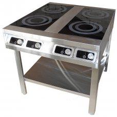 Плита индукционная 4 конфорки ПІб-4-900