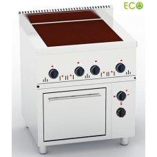Электроплита с духовкой 4-х конфорочная